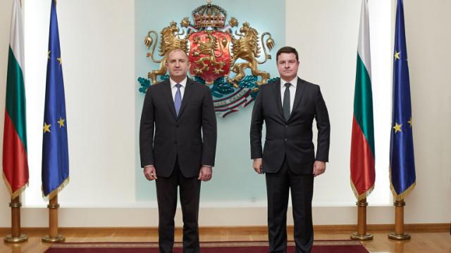 Новият британски посланик в България връчи акредитивните си писма