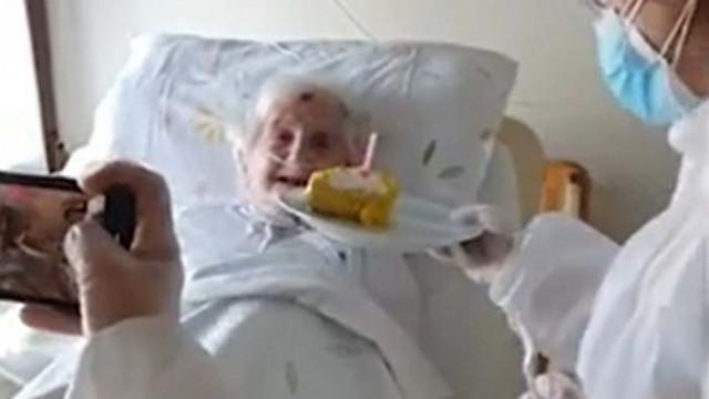 106-годишна италианка пребори COVID-19 (ВИДЕО)