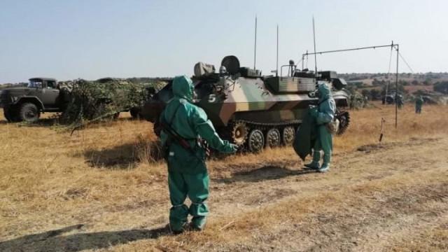 Военни провеждат учение за реакция при ядрена атака