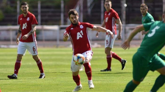 ЦСКА спечели с 2:0 контролата срещу Ботев (Враца)