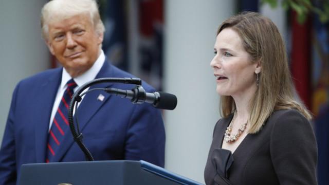 Доналд Тръмп избра да номинира Ейми Кони Барет за Върховния съд