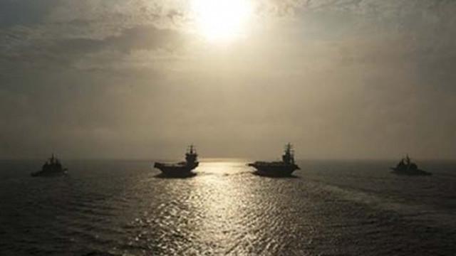 Китай провежда военни учения в 4 морета