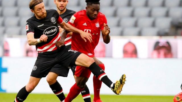Байерн разпиля Фортуна за десета поредна победа в Бундеслигата
