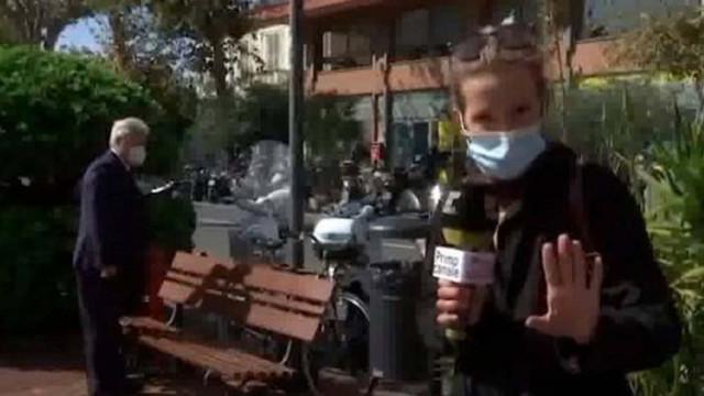 Обраха кмет в Италия по време на жив ефир (ВИДЕО)