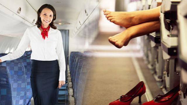 Защо не бива да сваляме обувките си по време на полет