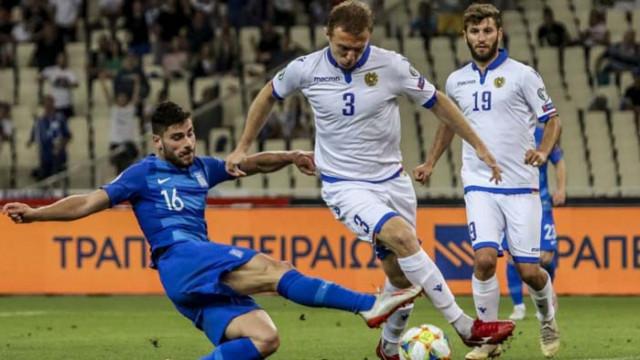 Капитанът на Армения спря с футбола и отиде на война