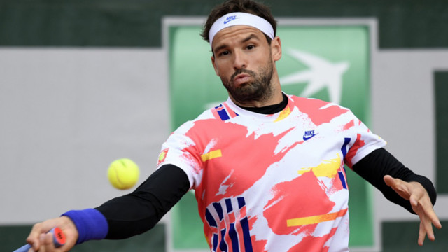 Димитров е за първи път на осминафинал в Париж след отказ на Карбайес Баена