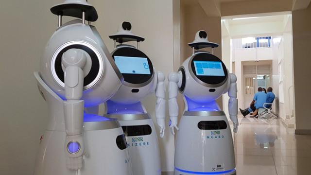 Роботи мерят температура и откриват COVID-19