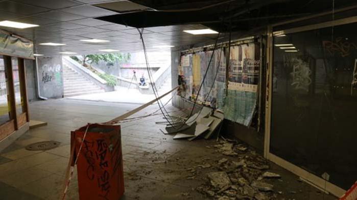 """До края на месеца трябва да приключи ремонтът на подлеза до спирка """"Стадион Варна"""" в града"""