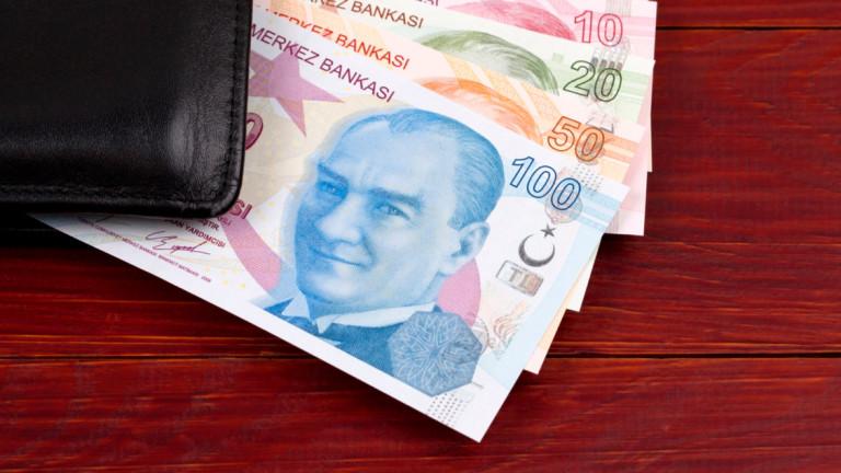 А турската лира пада ли, пада