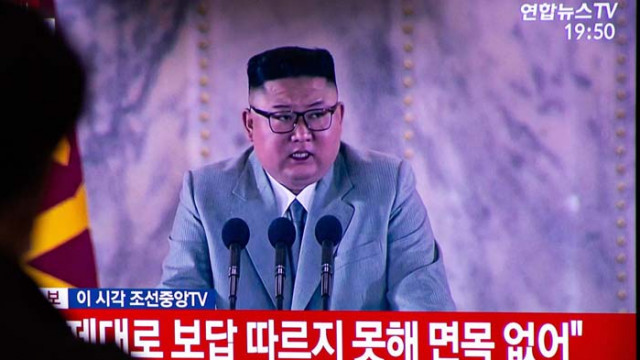 """Ким Чен Ун пожела здраве на борещите се със """"злия вирус"""""""
