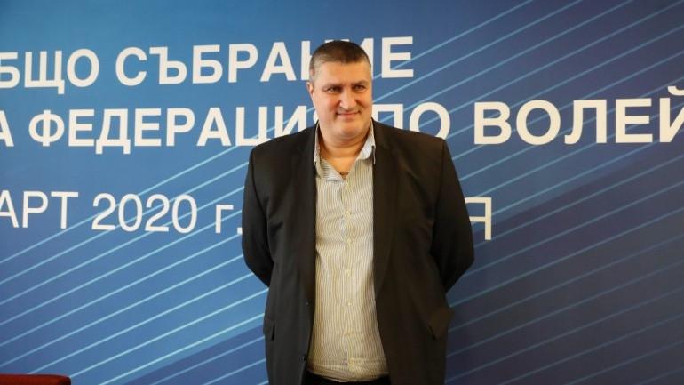 Любо Ганев зае висока позиция в Европейската волейболна конфедерация