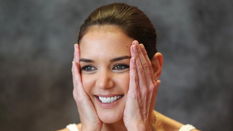 Кейти Холмс, Емилио Витоло и връзката на актрисата с ресторантьора