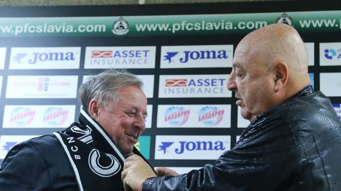 Тарханов: Щастлив съм, че се връщам в Славия