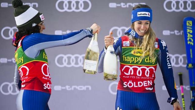 Италиански триумф на старта на сезона в алпийските ски