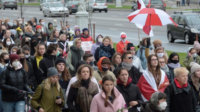 30 задържани на протест в Беларус