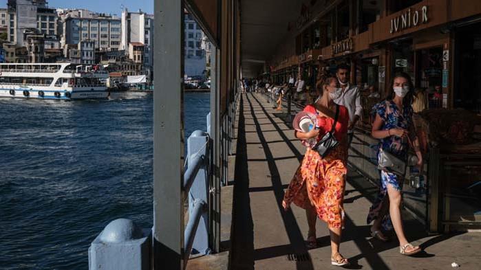 Турция е страната с най-много туристи през лятото
