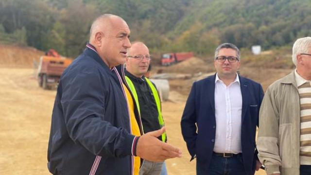 Борисов: Изграждаме проекти полезни за всички българи