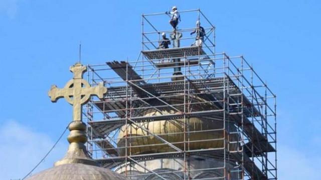 С 2,6 млн. лв. от дарителска кампания ремонтират Катедралния храм във Варна