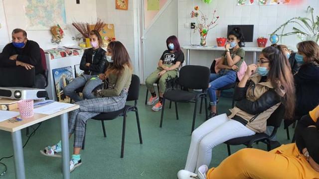 ЦОП в Аспарухово се проведоха редица инициативи срещу трафика на хора