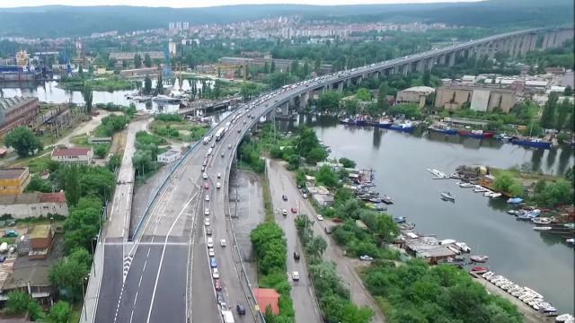 Експерти за Аспаруховия мост във Варна: Дефектите са по външния вид, мостът е в добро състояние