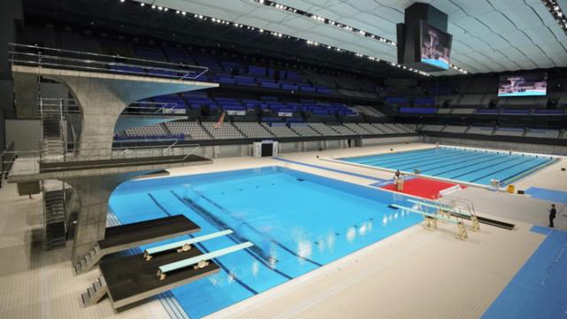 Токио откри плувен център за над половин милиард долара