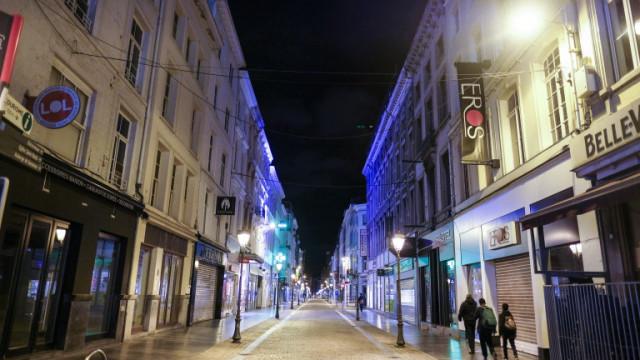 Полицейски час и в Брюксел