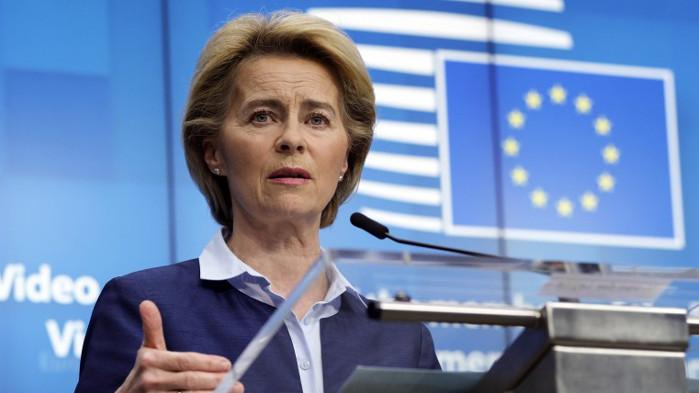 Урсула фон дер Лайен пожела бързо възстановяване на премиера Борисов