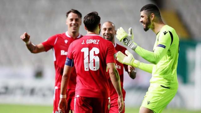 Жорди Гомес с невероятен гол и рекорд в Лига Европа