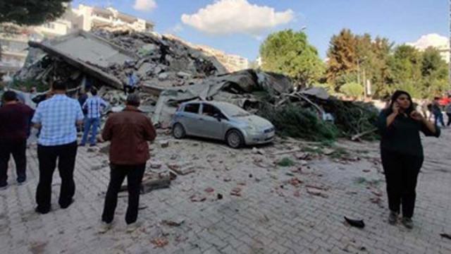 9 са задържани за разрушените при земетресението сгради в Измир