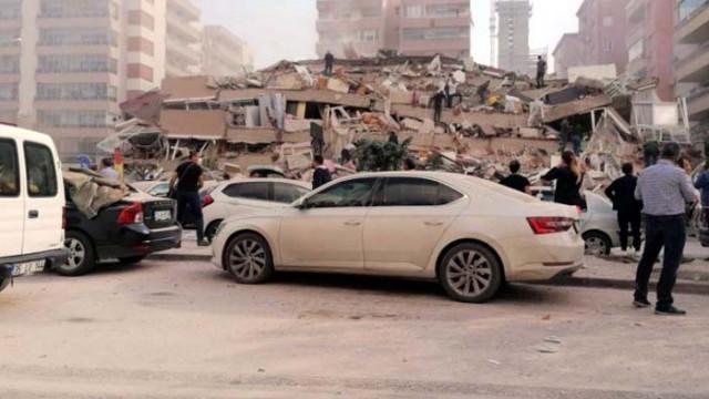 Броят на жертвите от земетресението в Турция нарасна до 100