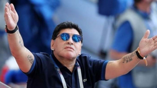 Легендата Диего Марадона беше приет в болница