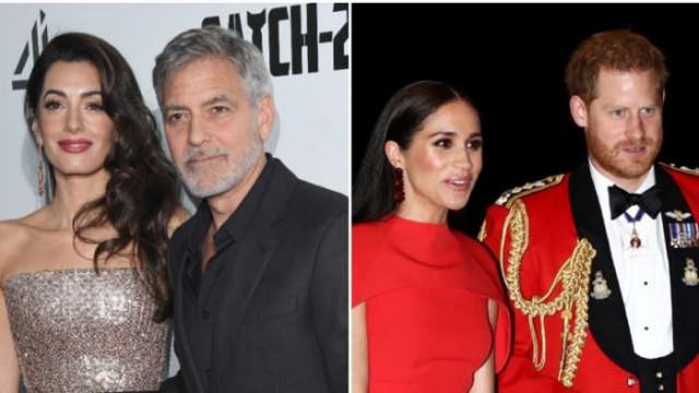 Джордж Клуни, Амал Клуни и познавали ли са се с принц Хари и Меган Маркъл преди кралската сватба