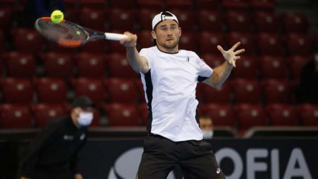 Габриел Донев взе сет, но отпадна от Sofia Open