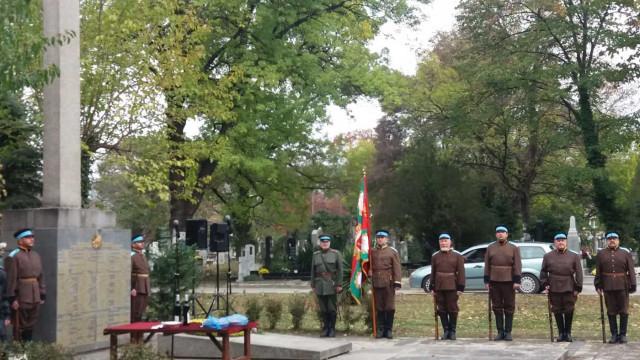 Поднесоха венци и цветя на Паметника на загиналите воини през Първата световна война във Варна