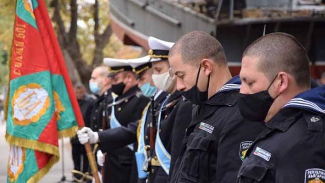 Военните моряци отблелязаха 108 години от Първата българска морска победа