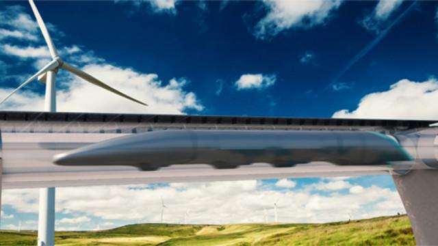 Бъдещето на транспорта: Virgin Hyperloop започна тестовете със скоростни капсули и хора