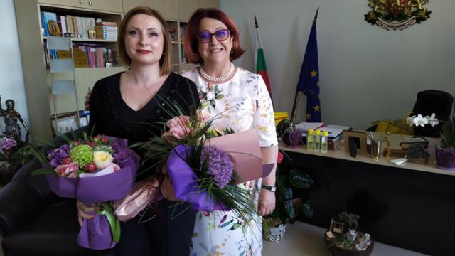 Съдия Светослава Колева вече и официално е част от екипа на Варненския апелативен съд