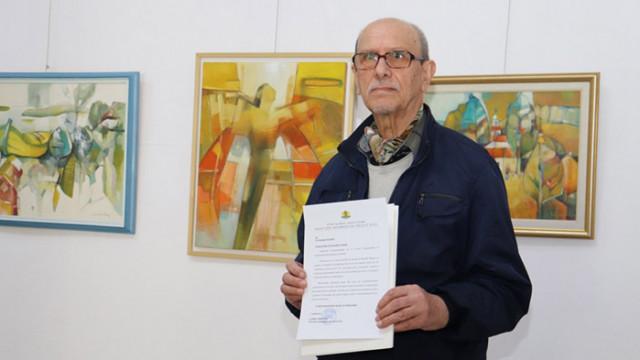 Маньо Манев с юбилейна изложба,  посветена на 75-ия му рожден ден