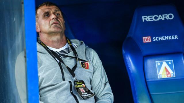Акрапович рядко губи в треньорските си дебюти