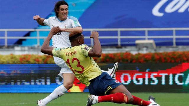 Уругвай стигна до втори успех в квалификациите след класика над Колумбия