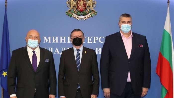 Красен Кралев се срещна с президента на CEV Александър Боричич