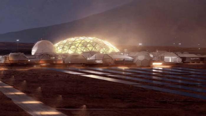 Илън Мъск: Първите хора на Марс ще живеят в стъклени куполи