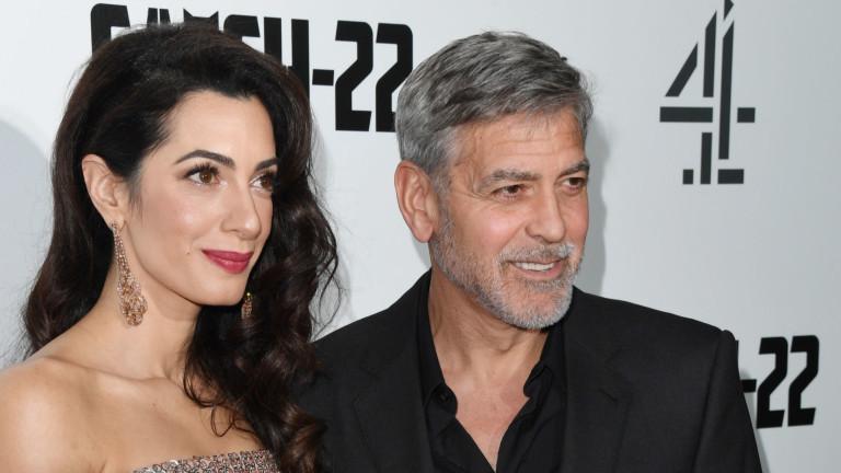Джордж Клуни, Амал Клуни и признанията на актьора за съпругата му