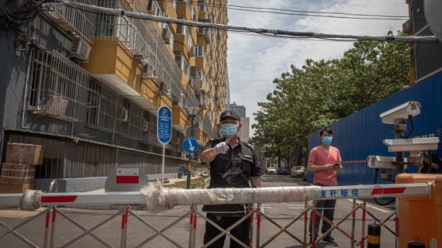 Наложиха пълна блокада на град в Китай заради два случая на COVID-19
