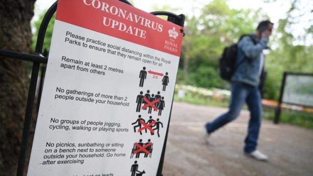 1 на 1000 заразени с коронавирус в Англия