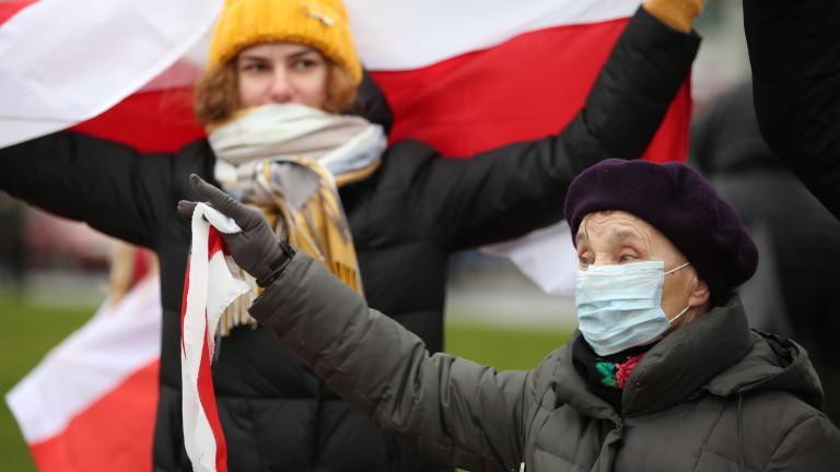 Над 200 задържани на протест в Беларус