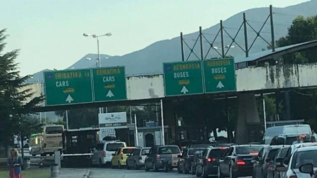 """Гърция временно спря да тества шофьори на камиони на ГКПП """"Промахон"""""""