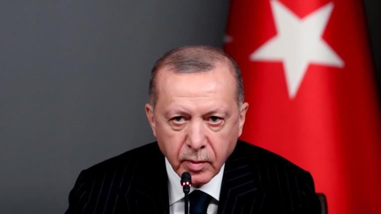 Съюзник на Ердоган се оттегли заради спор