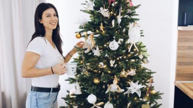 Коледният дух в дома на Цветана Пиронкова